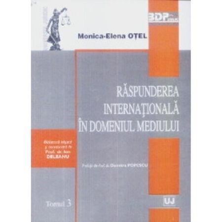 Coperta Carte Raspunderea internationala in domeniul mediului