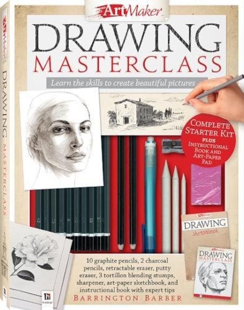 Art Maker Drawing Masterclass Kit (portrait)
