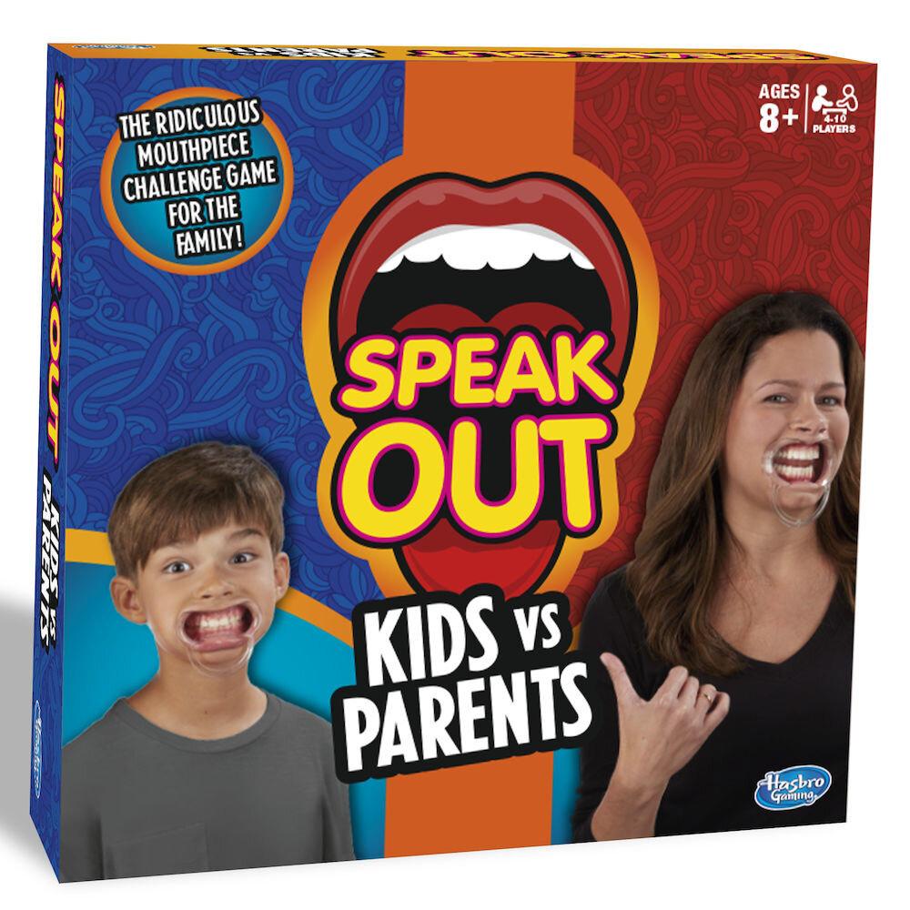 Joc Speak Out - Spune in gura mare, Copii vs Parinti
