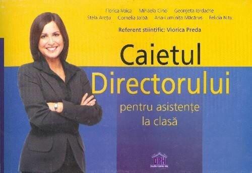 Coperta Carte Caietul directorului pentru asistente la clasa