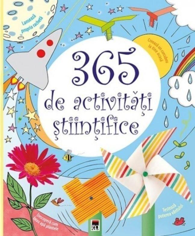 Coperta Carte 365 de activitati stiintifice si distractive