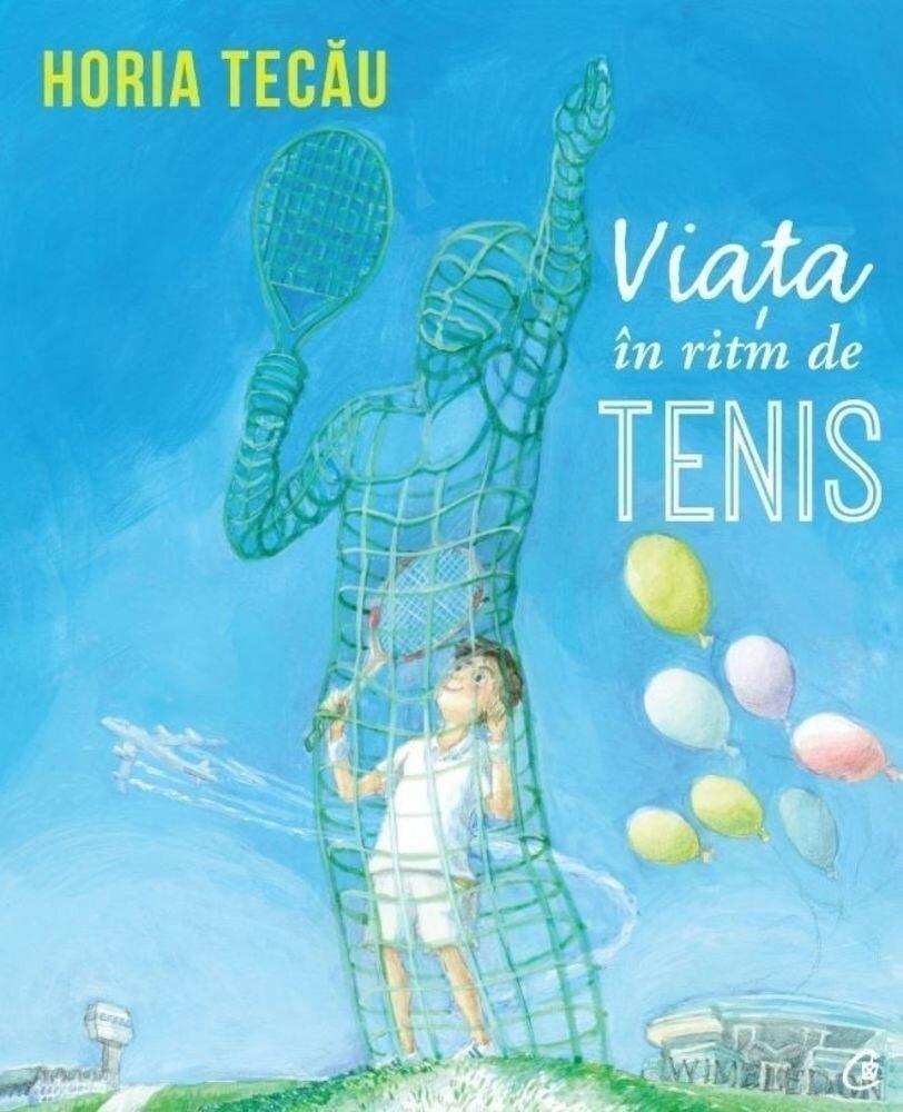 Coperta Carte Viata in ritm de tenis