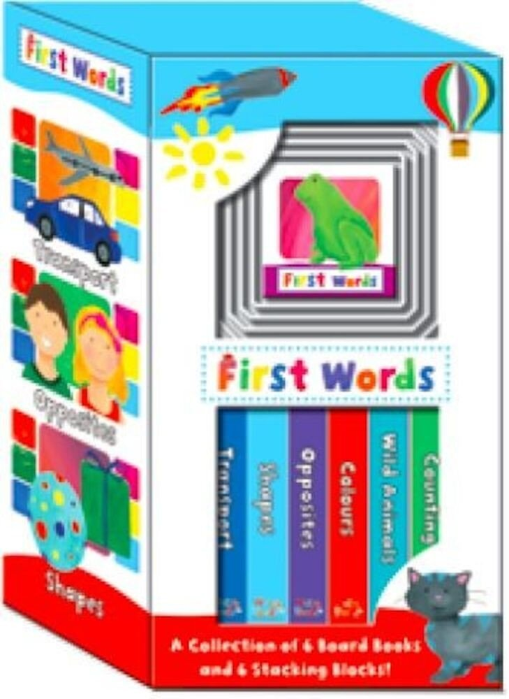 Early Learning Boxed Set - First Words Claudia