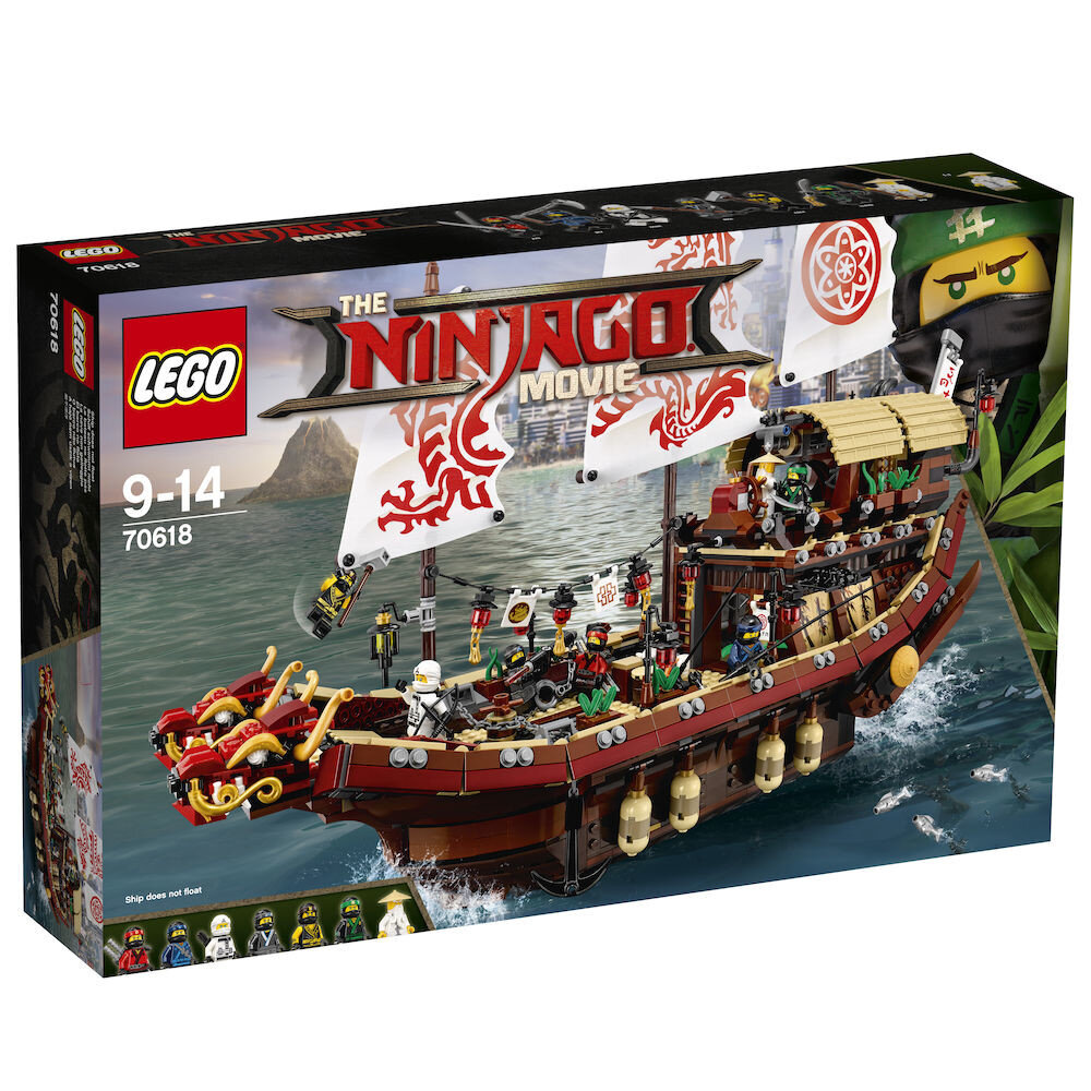 LEGO Ninjago Movie, Destinys Bounty 70618