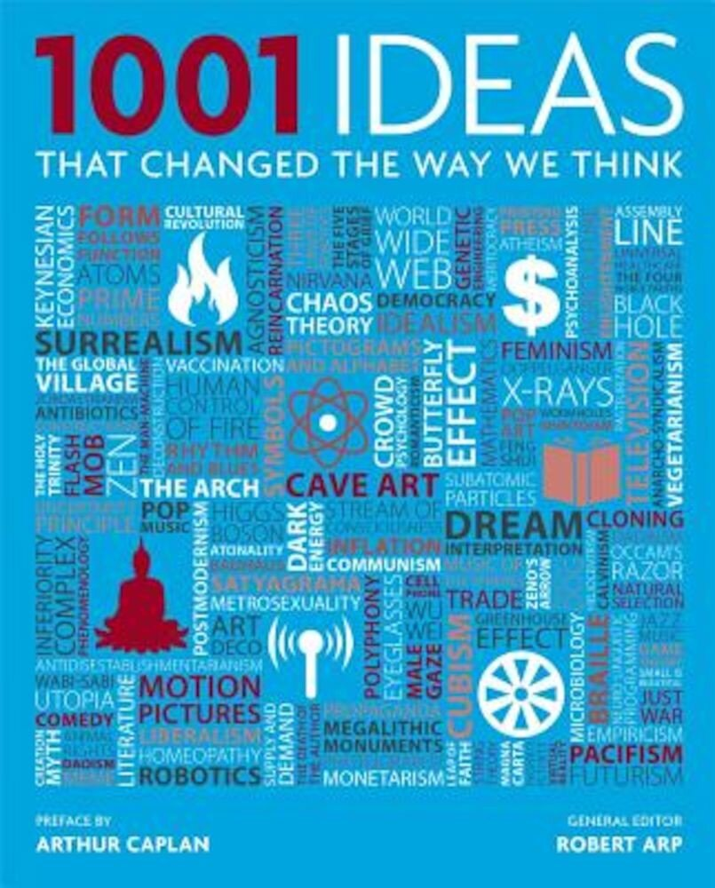 1001 Ideas That Changed the Way We Think, Hardcover
