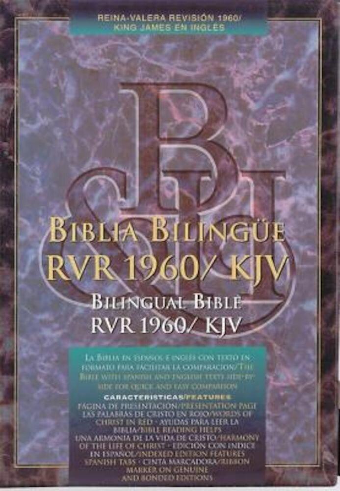 Bilingual Bible-PR-RV 1960/KJV, Hardcover