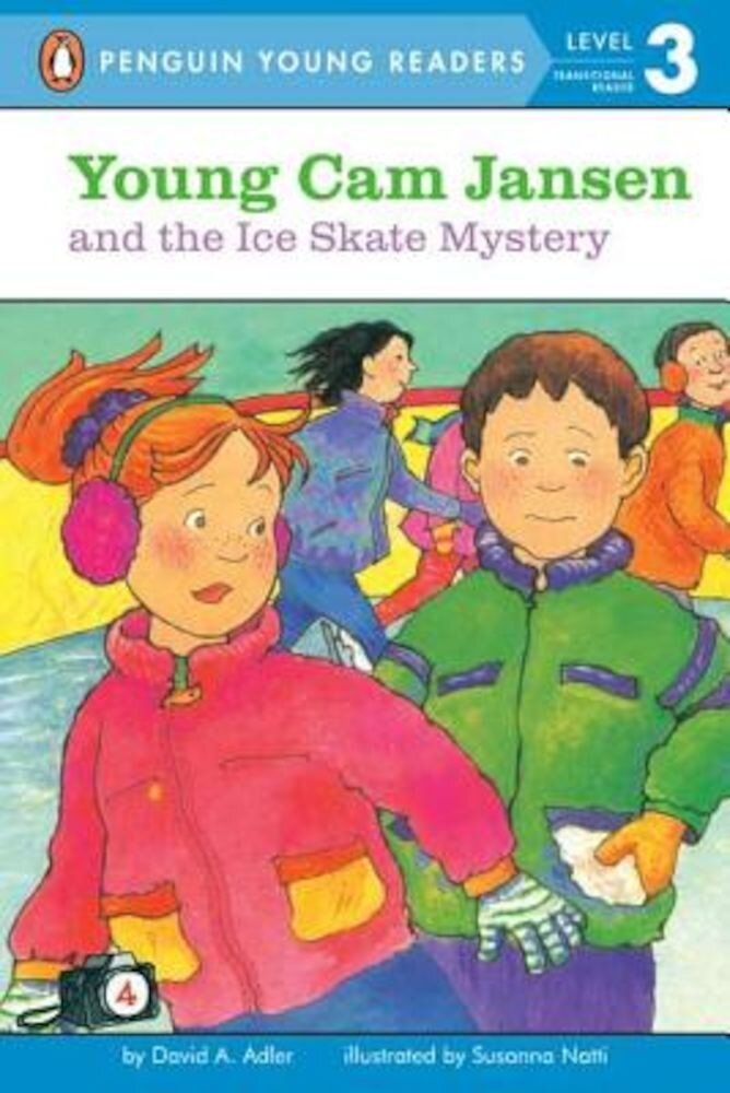 Young CAM Jansen and the Ice Skate Mystery, Paperback
