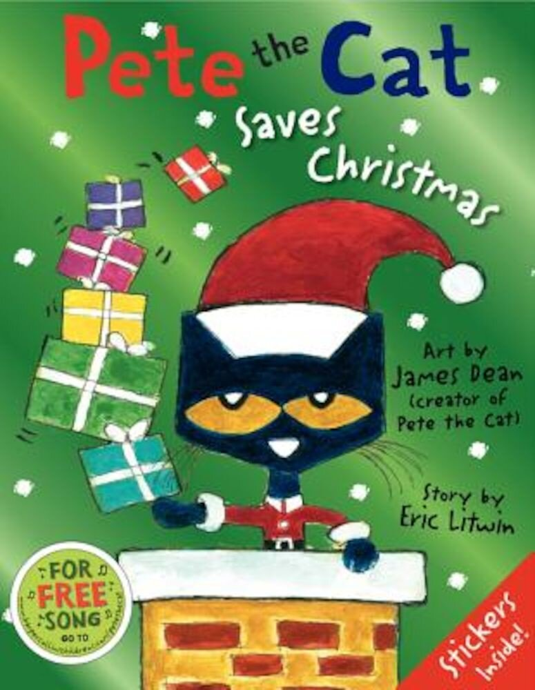 Pete the Cat Saves Christmas, Hardcover