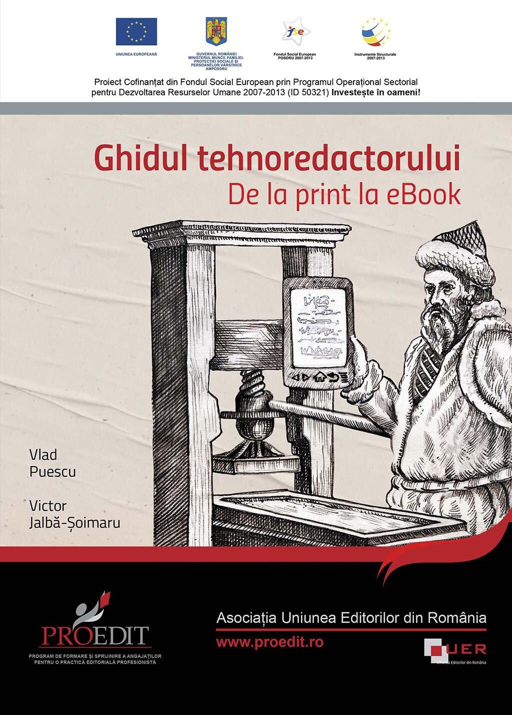 Ghidul tehnoredactorului. De la print la eBook (eBook)