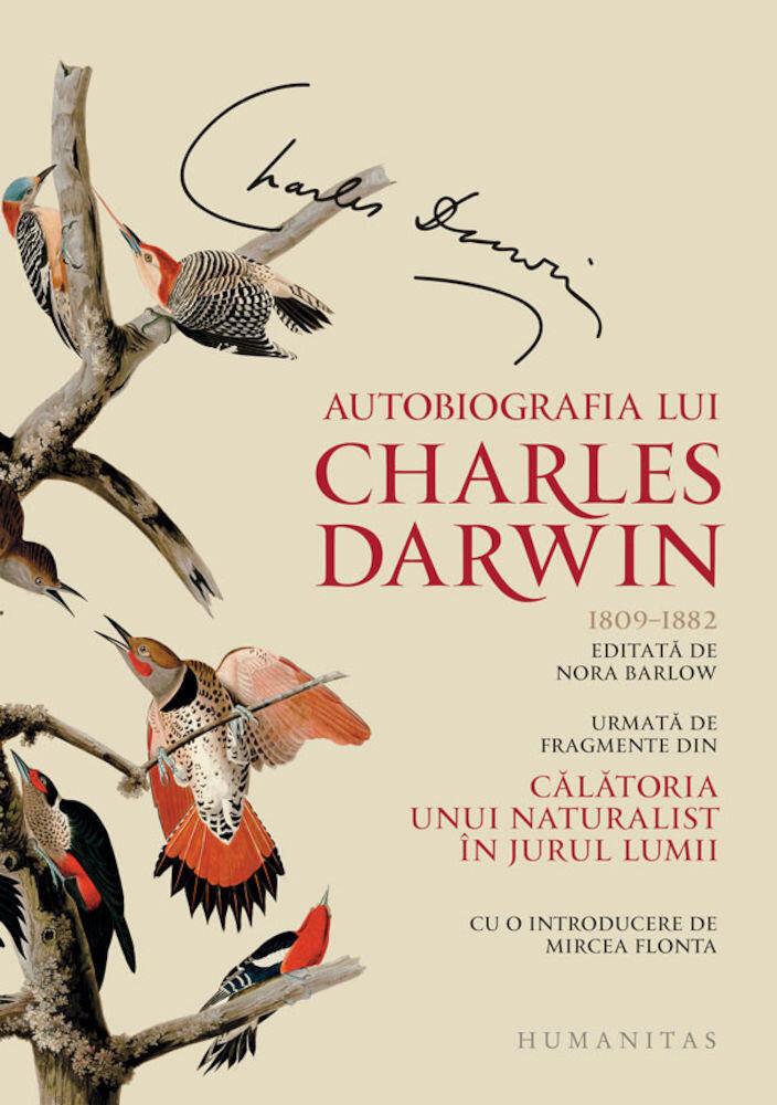 Coperta Carte Autobiografia lui Charles Darwin