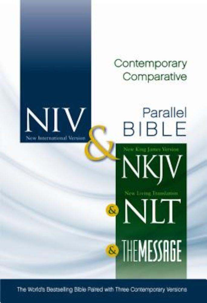Contemporary Comparative Side-By-Side Bible-PR-NIV/NKJV/NLT/MS, Hardcover