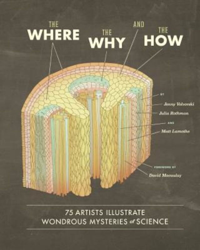 The Where, the Why, and the How: 75 Artists Illustrate Wondrous Mysteries of Science, Hardcover
