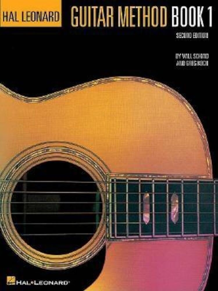 Hal Leonard Guitar Method Book 1: Book Only, Paperback