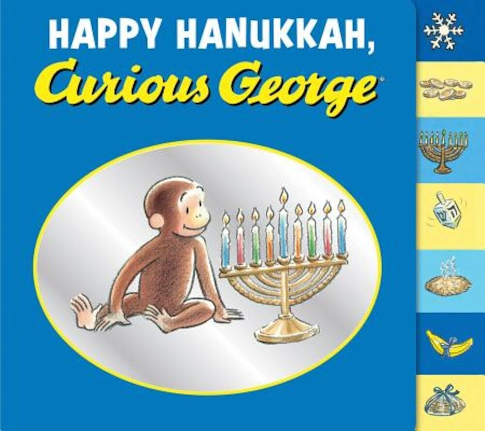 Happy Hanukkah, Curious George, Hardcover