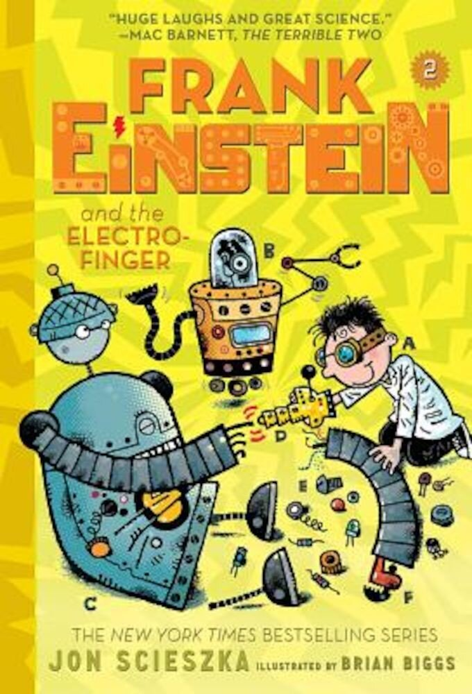 Frank Einstein and the Electro-Finger (Frank Einstein Series #2): Book Two, Paperback