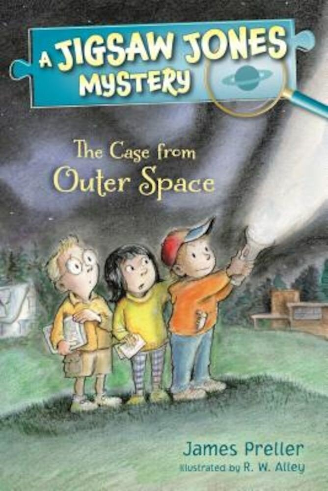 Jigsaw Jones: The Case from Outer Space, Paperback