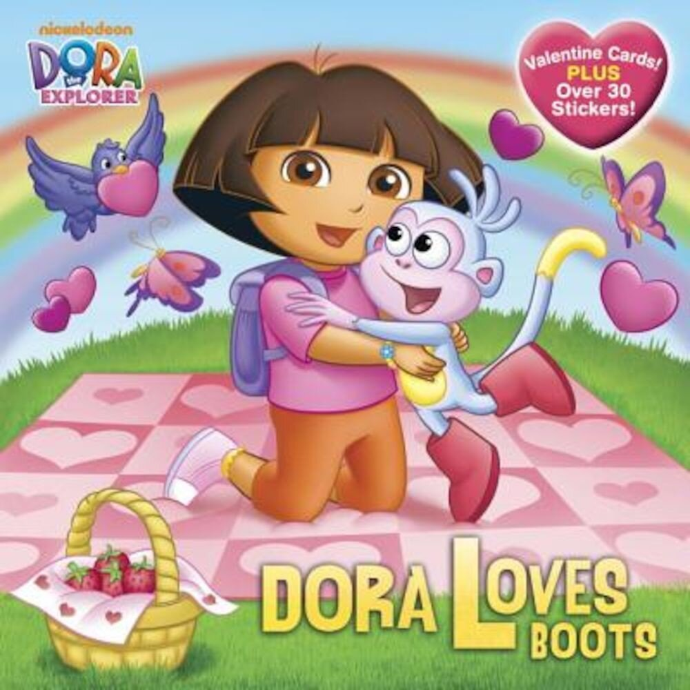 Dora Loves Boots [With Valentine Cards], Paperback