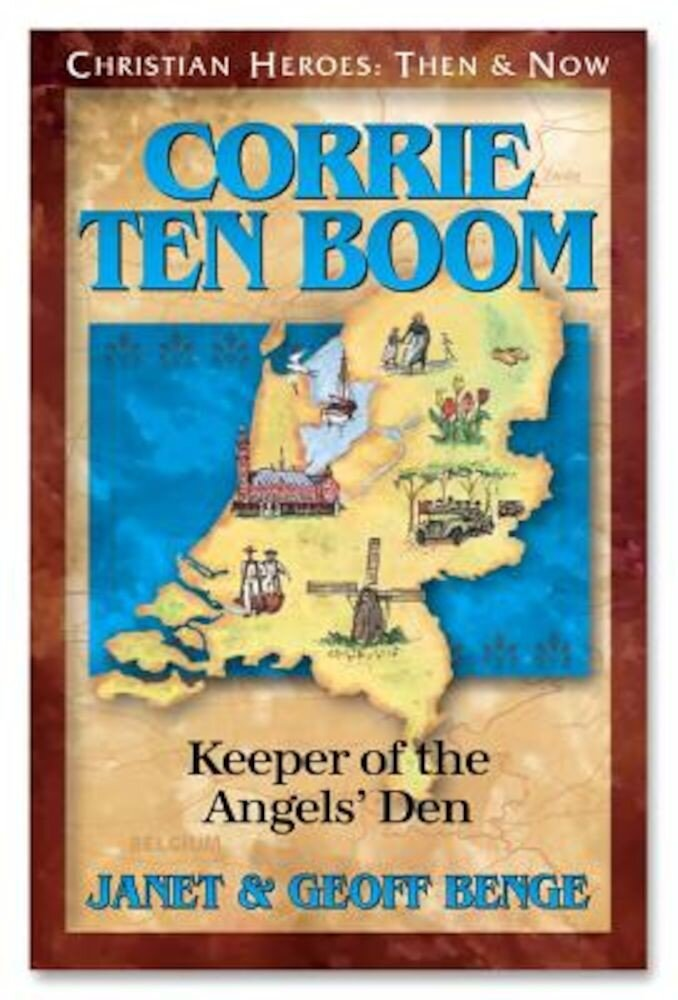 Corrie Ten Boom: Keeper of the Angels Den, Paperback
