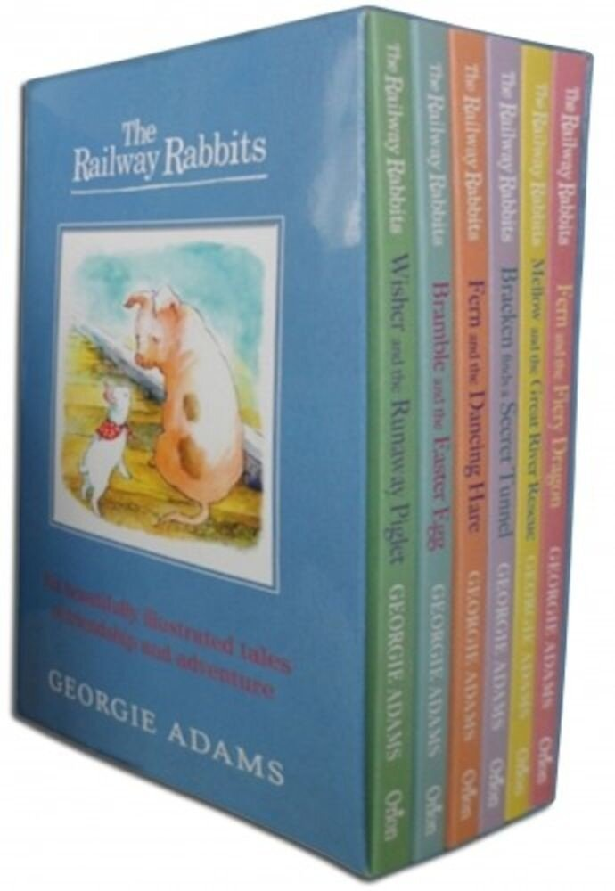 Railway Rabbits Collection 6 Books Box Set
