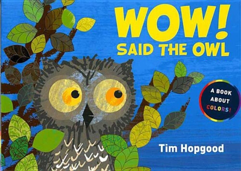Wow! Said the Owl: A Book about Colors, Hardcover