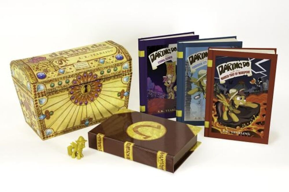 My Little Pony: The Daring Do Adventure Collection: A Three-Book Boxed Set with Exclusive Figure, Hardcover