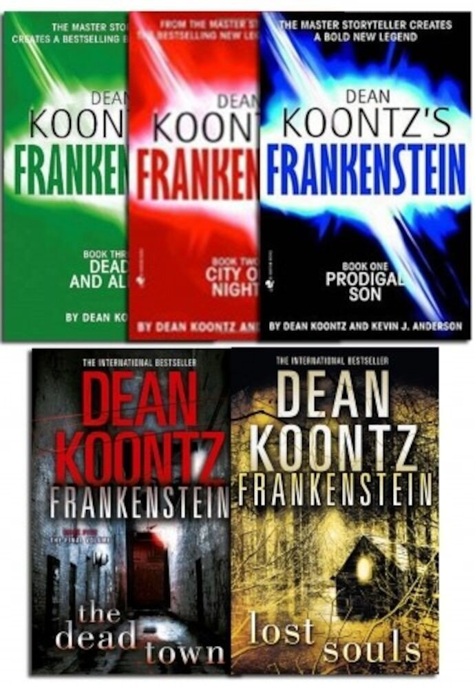 Dean Koontz Frankenstein Collection 5 Books Set