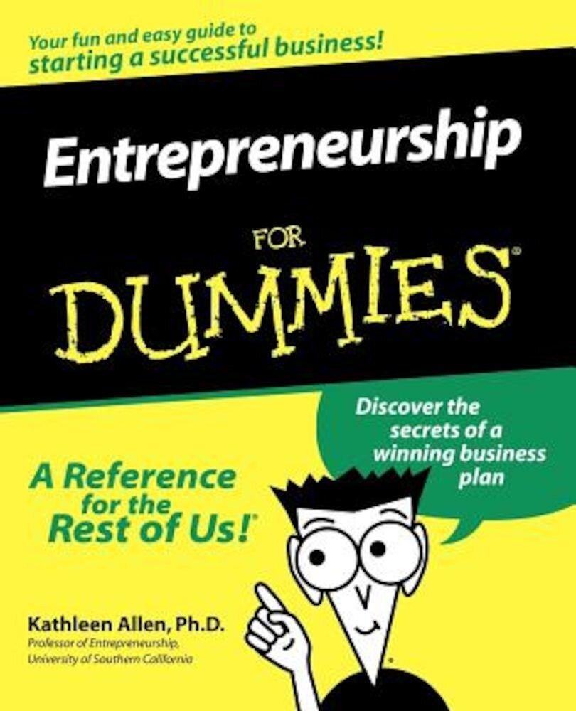 Entrepreneurship for Dummies, Paperback