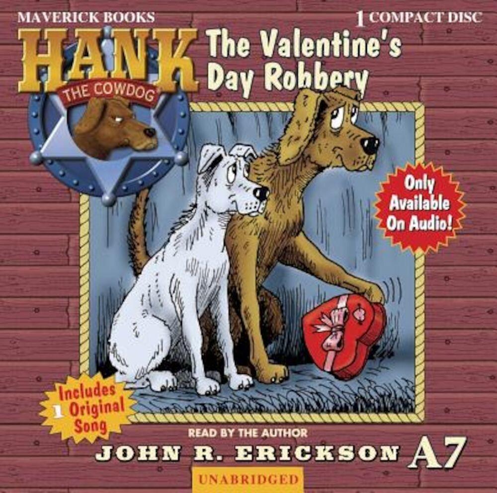 Coperta Carte The Valentine's Day Robbery, Audiobook