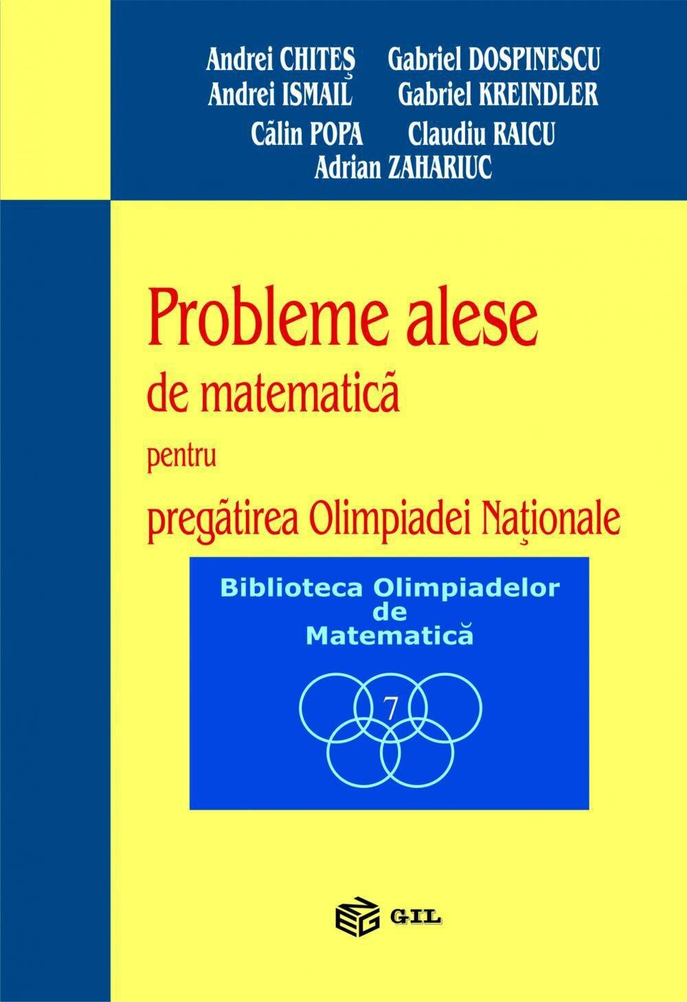 Probleme alese pt preg. Olimpiadei Nationale(2002-2003) (eBook)