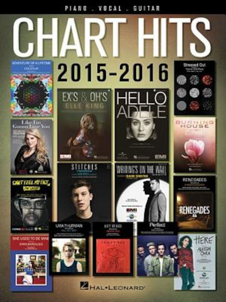 Chart Hits of 2015-2016, Paperback