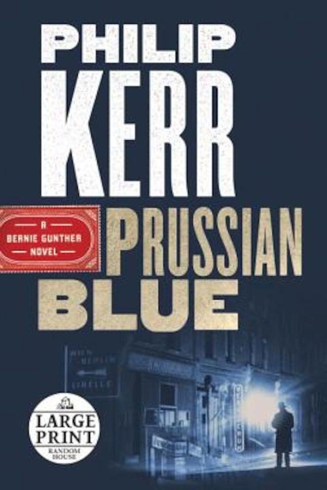 Prussian Blue, Paperback