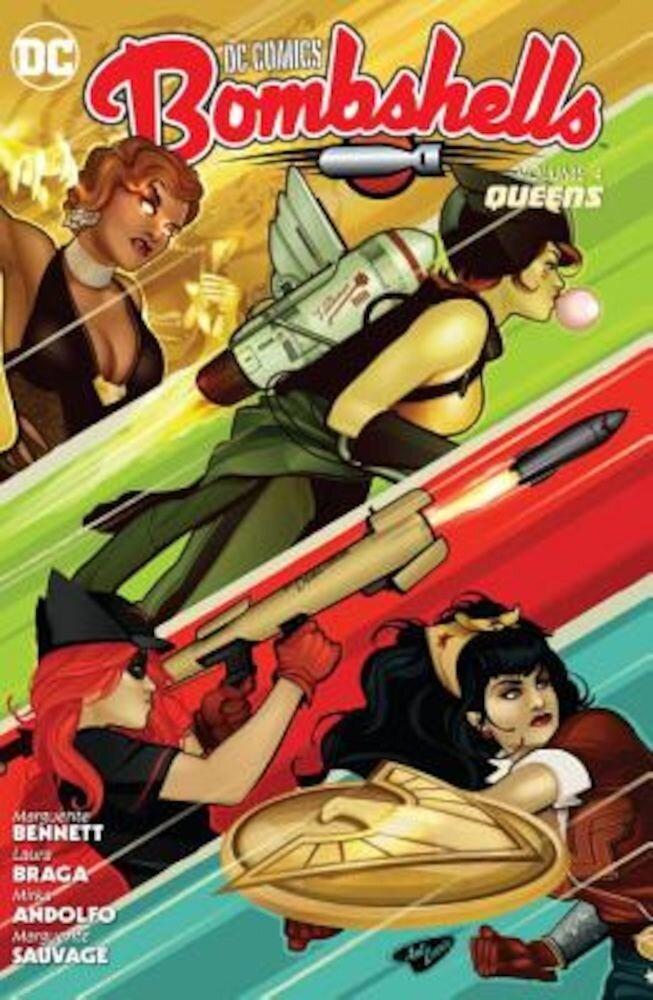 DC Comics: Bombshells Vol. 4: Queens, Paperback