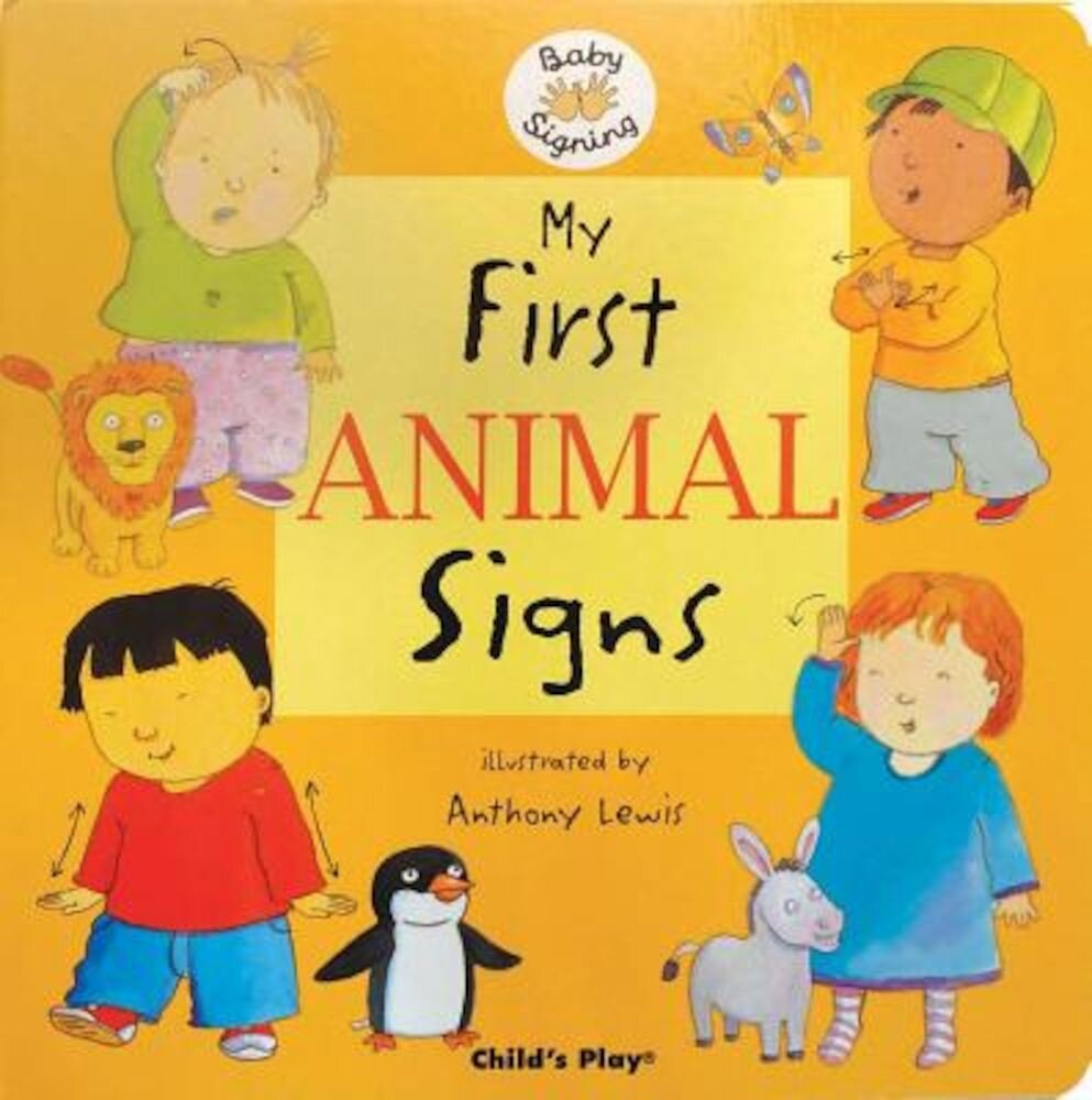 My First Animal Signs, Hardcover