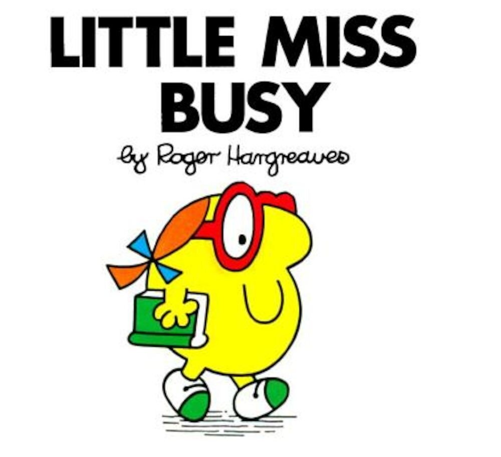 Little Miss Busy, Paperback