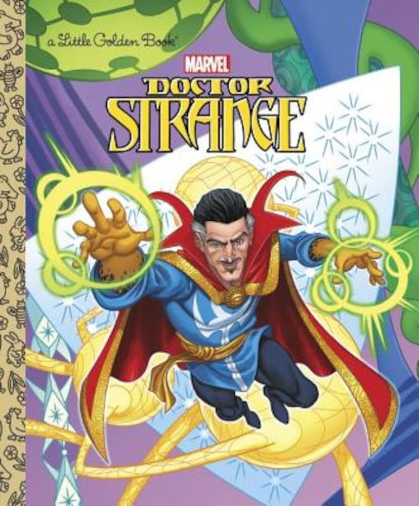 Doctor Strange Little Golden Book (Marvel: Doctor Strange), Hardcover