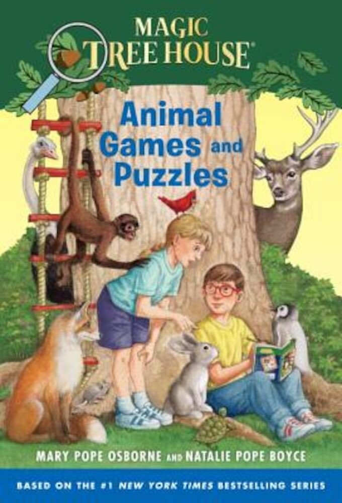 Animal Games and Puzzles, Paperback