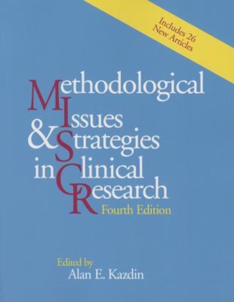 Methodological Issues and Strategies in Clinical Research, Paperback