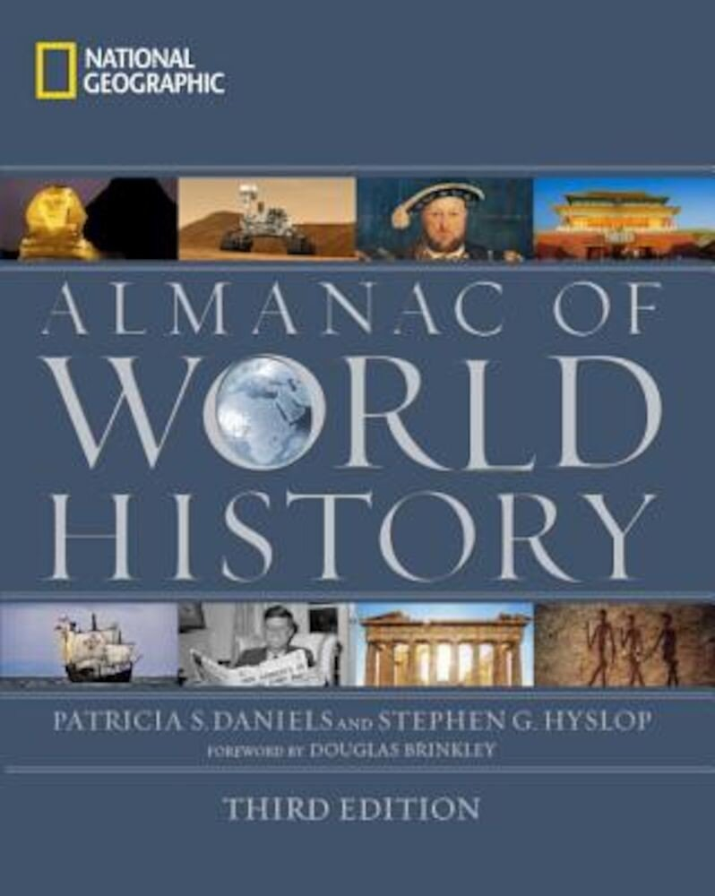 National Geographic Almanac of World History, Hardcover