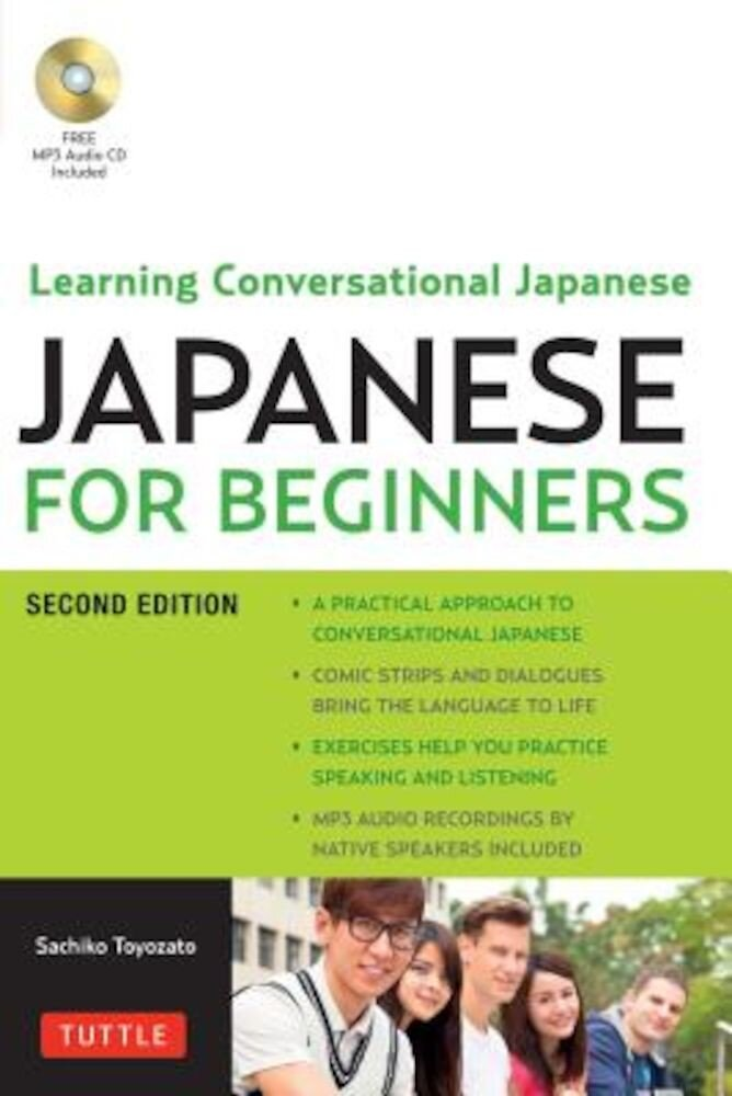 Japanese for Beginners: Learning Conversational Japanese [With CD (Audio)], Paperback