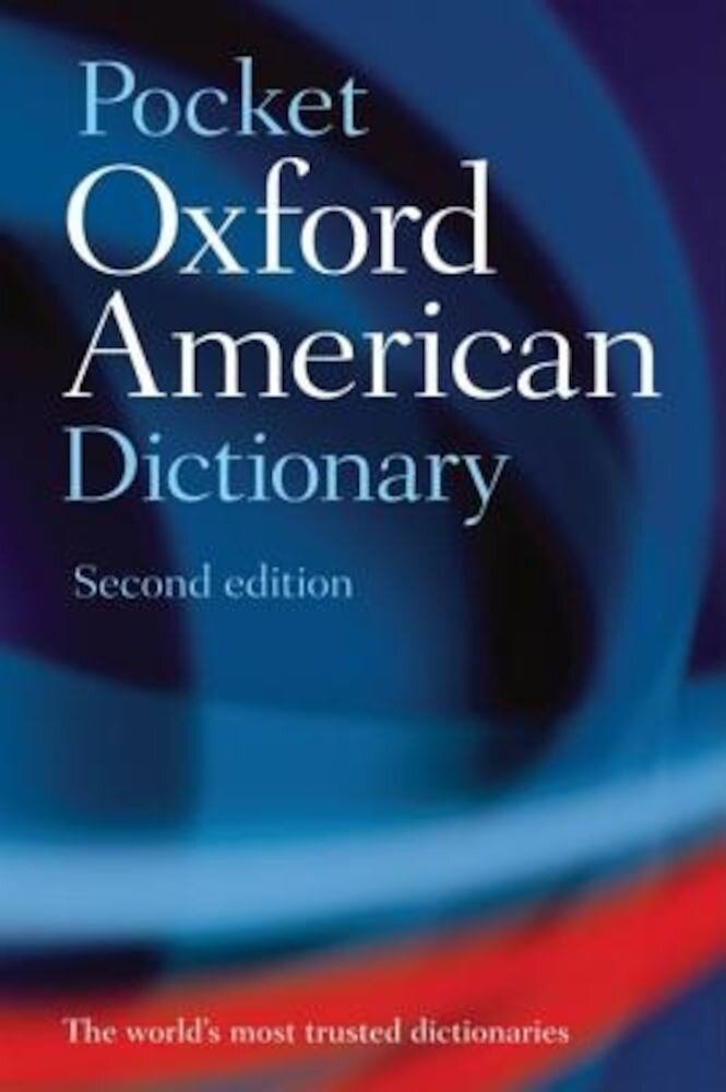 Pocket Oxford American Dictionary, Paperback