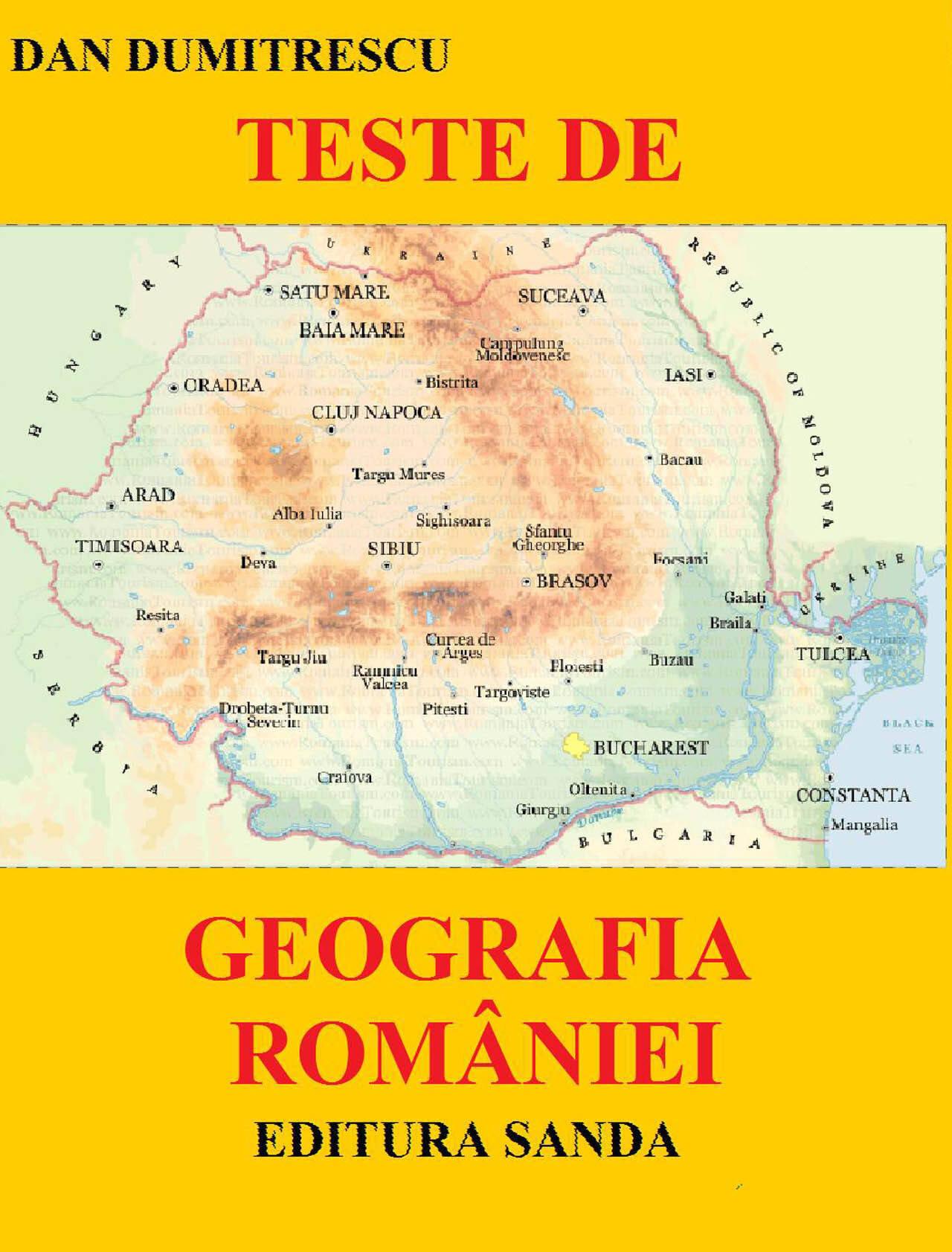 Teste de geografia Romaniei (eBook)