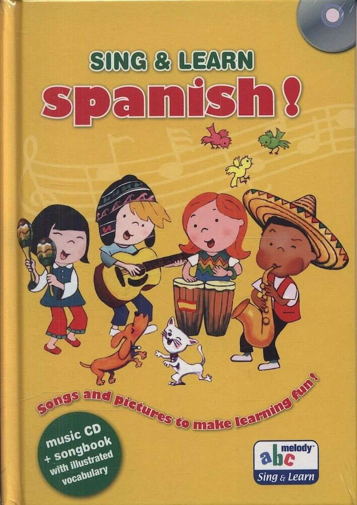 Sing & Learn. Spanish (+CD)