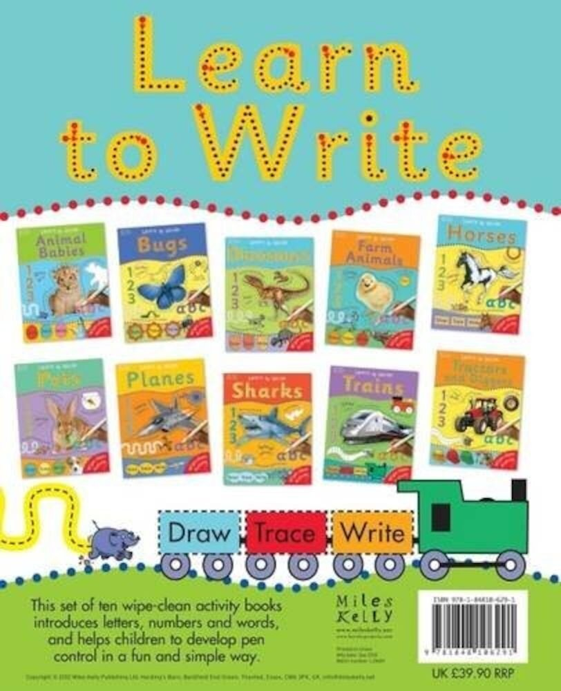 Learn to Write 10-book Set