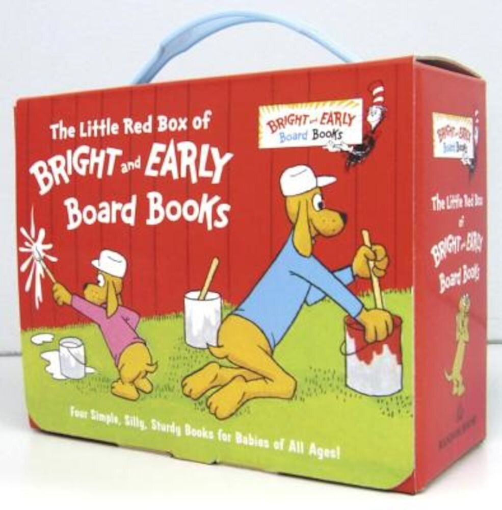 The Little Red Box of Bright and Early Board Books, Hardcover
