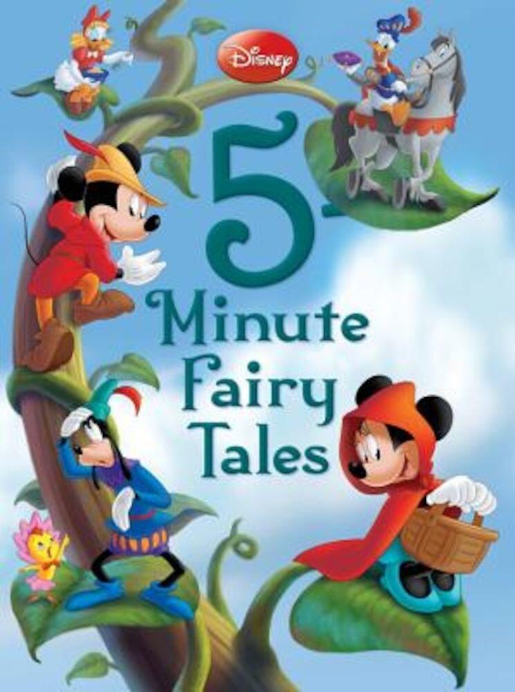 Disney 5-Minute Fairy Tales, Hardcover