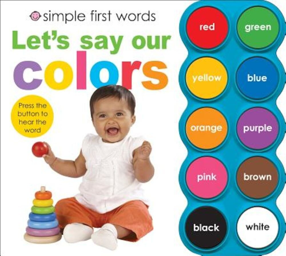 Let's Say Our Colors [With Sound Board], Hardcover