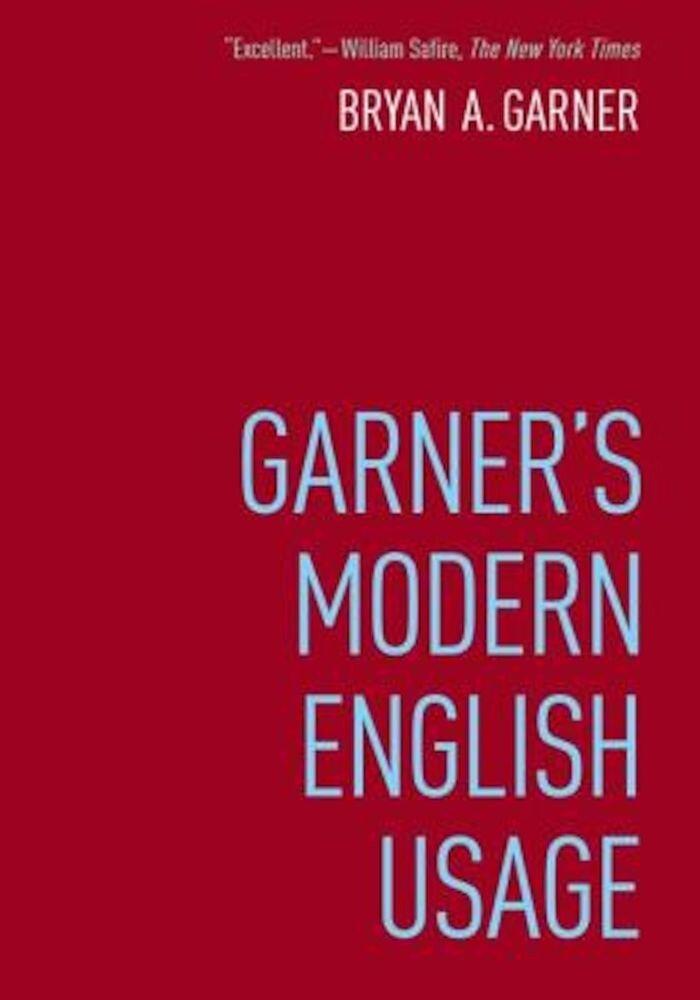 Garner's Modern English Usage, Hardcover