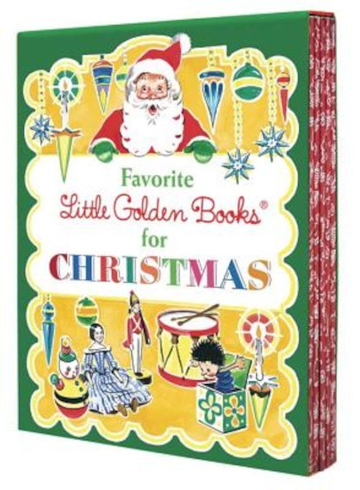 Favorite Little Golden Books for Christmas 5 Copy Boxed Set, Hardcover