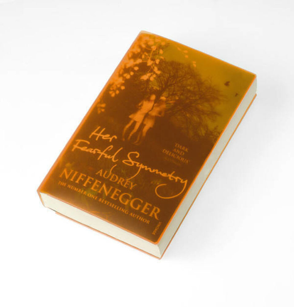 Cover Up Book Cover - Orange transparent