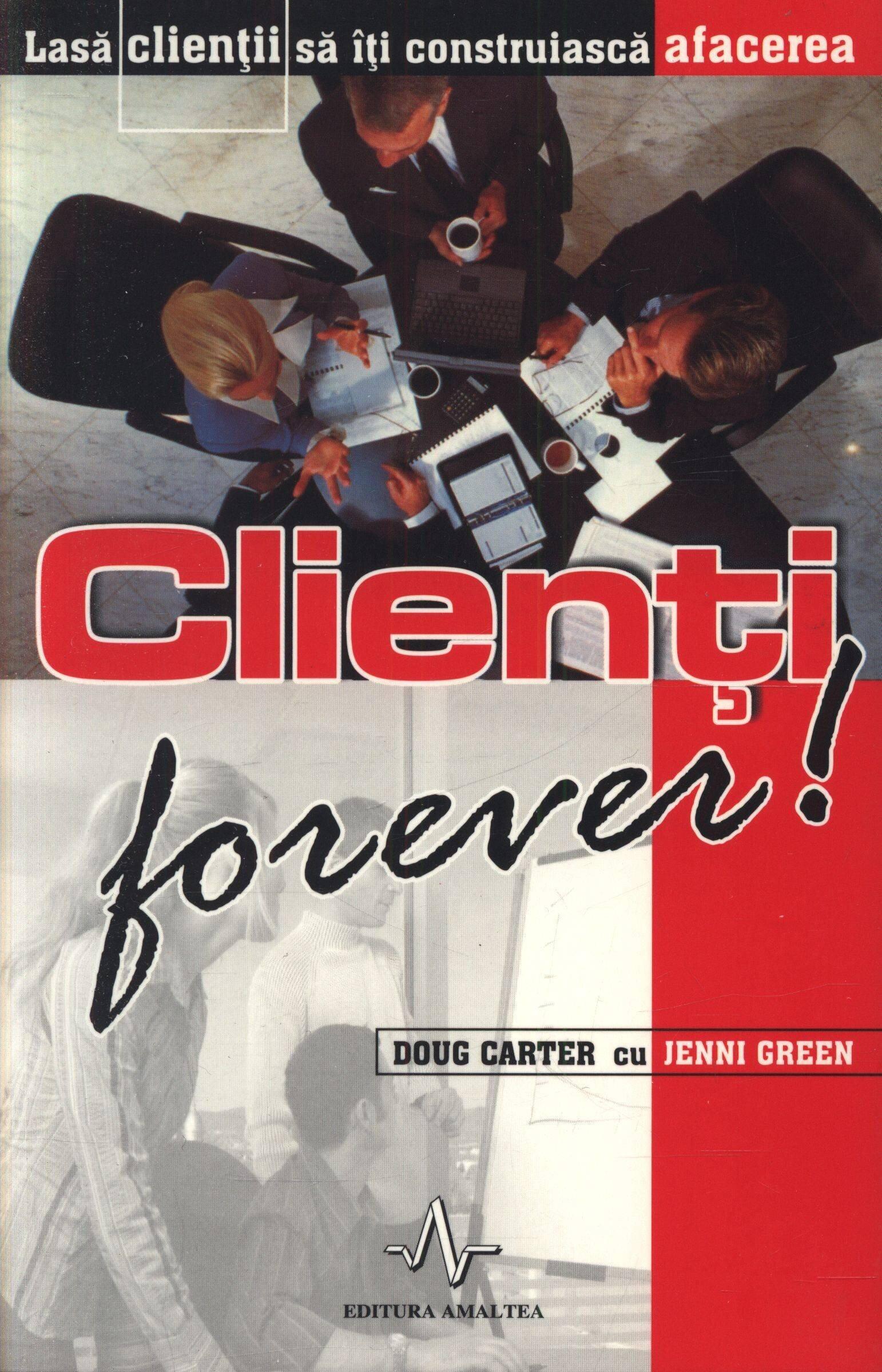 Coperta Carte Clienti forever!
